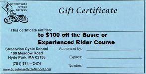gift certificate - 100 off