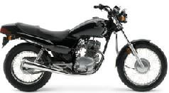 motorcycle - honda nighthawk 250